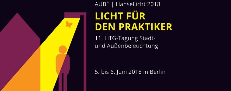 Logo Gemeinschaftstagung LiTG-AUBE und HanseLicht 2018