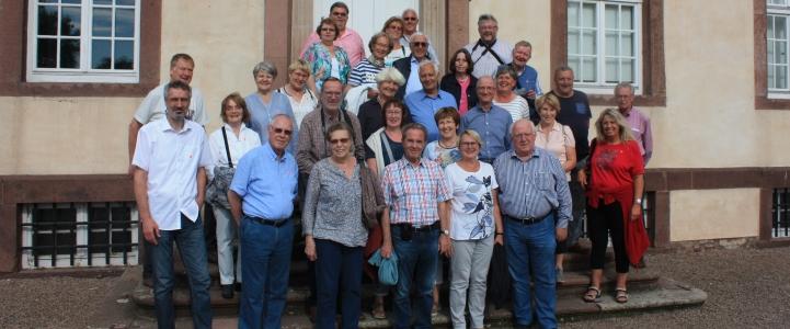 Teilnehmer Ausflug BG Hannover an die Oberweser