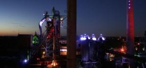Ruhrgebiet beleuchtet