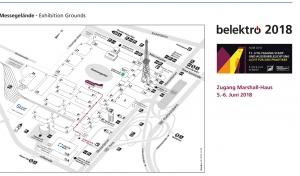 Zugang zum Mashall-Haus auf dem Berliner Messegelände